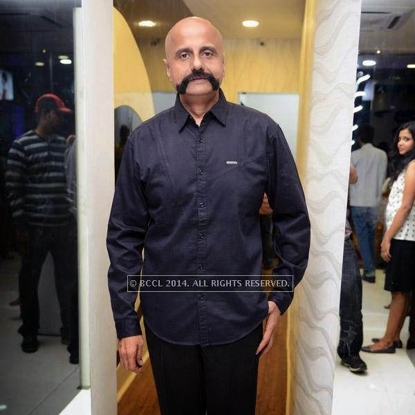 Satish attends the launch of salon 'Essensuals', in Chennai.
