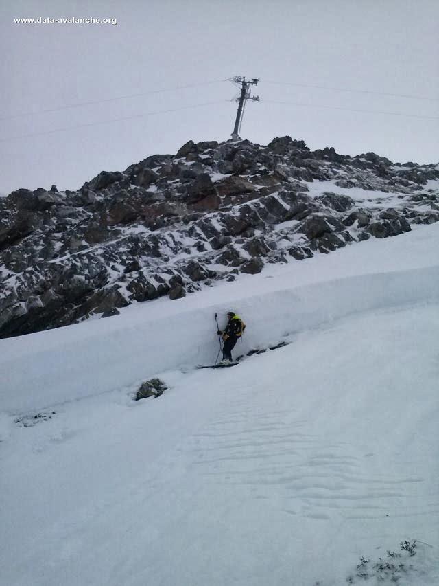 Avalanche Maurienne, secteur Les Karellis, Pointe des Chaudannes - Photo 1