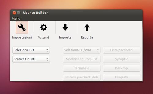 Ubuntu Builder 2.3.0 su Ubuntu 12.10