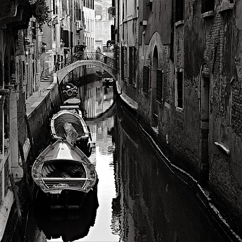 Venezia - Rio con barche