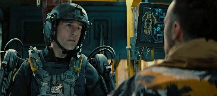 Screen Shot Of Hollywood Movie Edge of Tomorrow (2014) Download And Watch Online Free at alldownloads4u.com