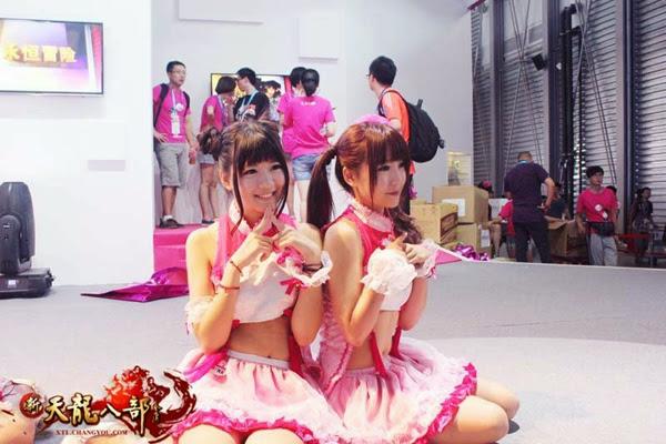 Ngắm showgirl tại gian hàng Tân Thiên Long Bát Bộ 10