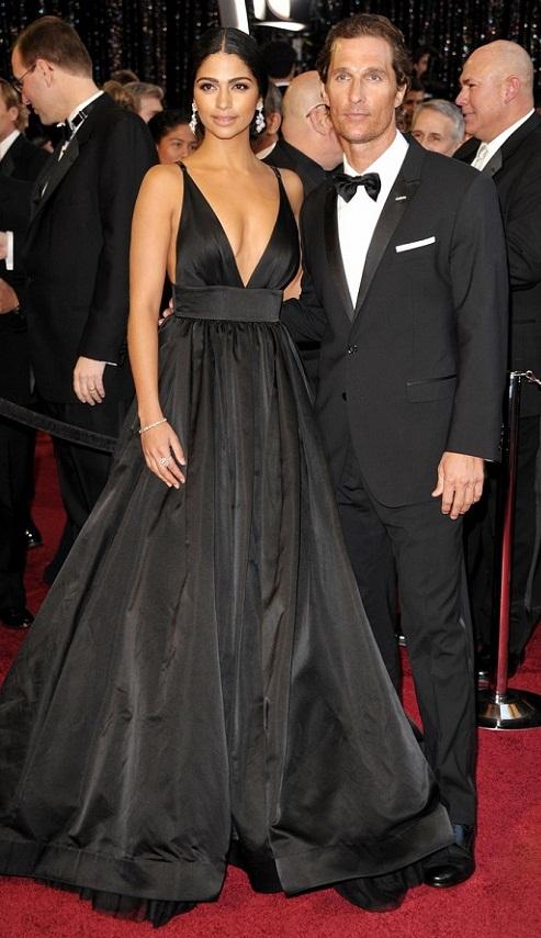 matthew mcconaughey and camila alves oscars. Matthew McConaughey et Camilla
