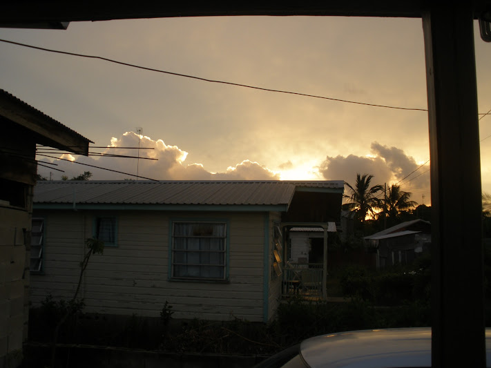 Sunrise in Barbados