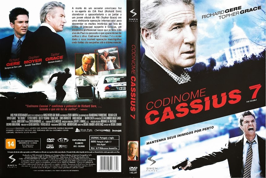 Baixar Filme Codinome+Cassius+7 Codinome Cassius 7 (The Double) (2012) BRRip AVi Dublado torrent