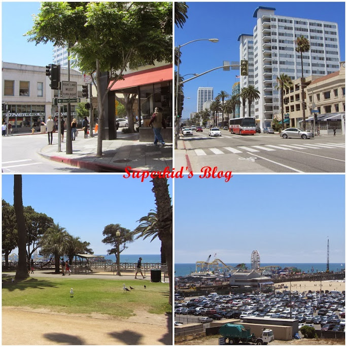 洛杉磯Santa Monica市區一隅