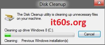 Cách loại bỏ thư mục Windows.old trong Windows 8 4