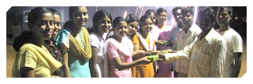 Diwali Celebrated by Students