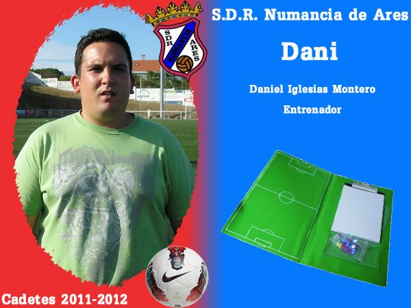 ADR Numancia de Ares. Cadetes 2011-2012. DANI.