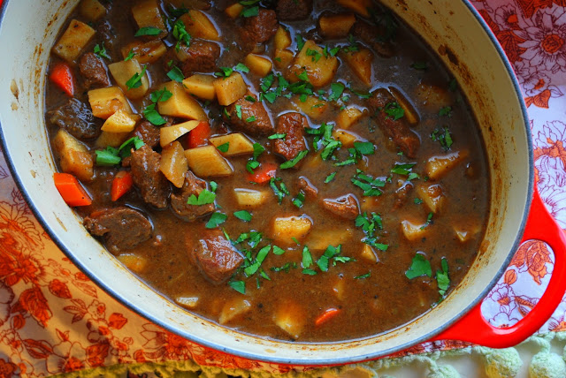 ... : Stopping to enjoy Beef and Guinness Stew for St. Patrick's Day