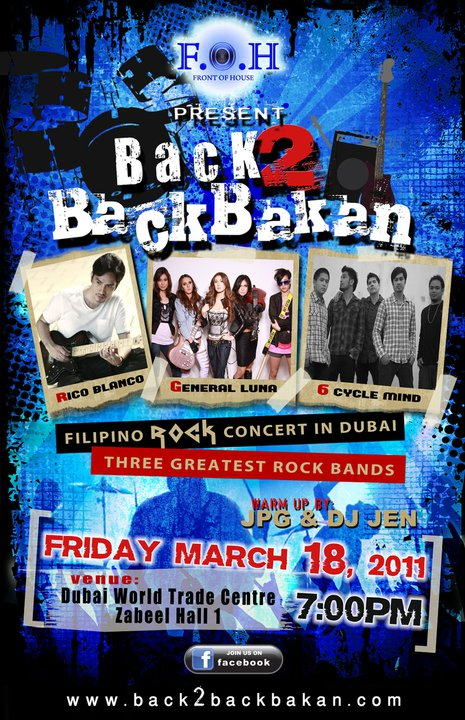 5 Reasons Why You Shouldn't Miss Back2Backbakan Rock Concert in Dubai