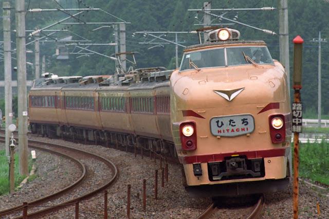 Tàu hỏa 485 Express ngoài đời thực