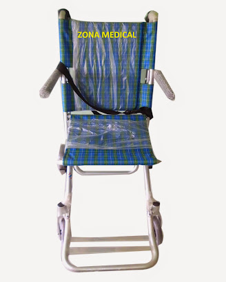 kursi roda travel sella blue