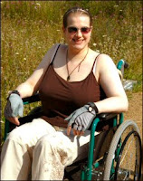 One of my wheelchair bound outings, to the Wildflower Centre