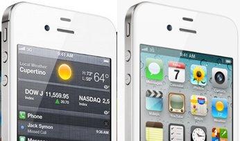 iPhone 4SおよびiPhone 4の側面