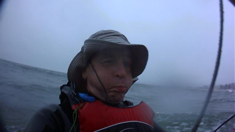 Plage de Pornichet en kite mountainboard Pl3