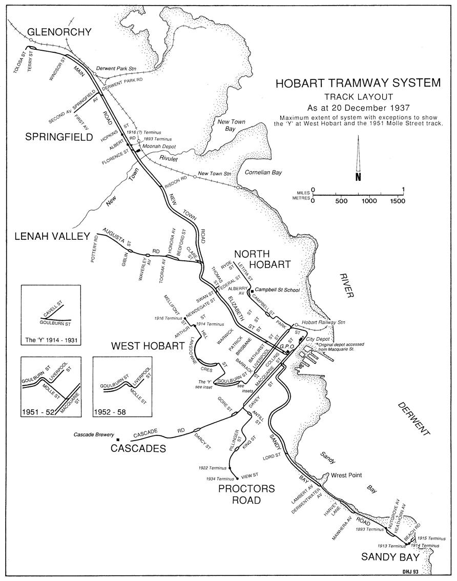 Hobart Light Rail Metro 2 History of Trams in Hobart