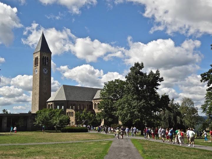 康奈尔入学记: Cornell University(转贴) - Jennifer - 雨夜相思客