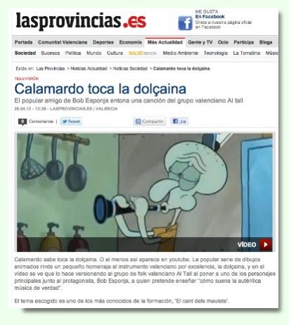 Notícia La Voz de Galícia