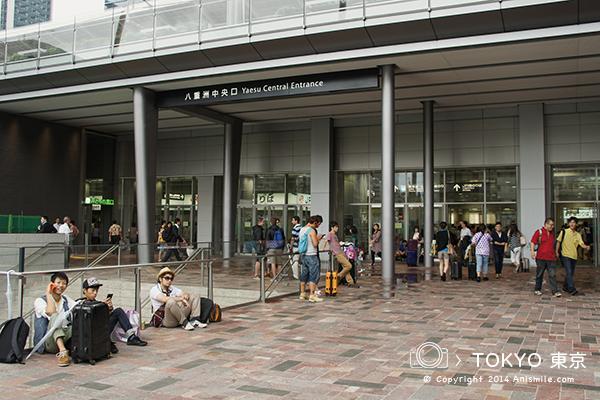 """""""【走走東京】東京車站Central"""