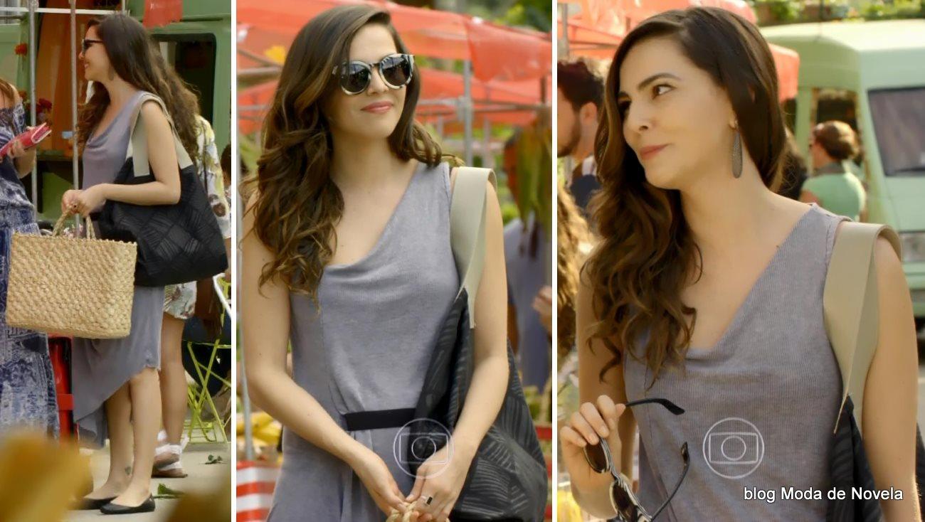 moda da novela Em Família - look da Marina dia 17 de junho
