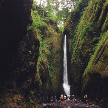 What I am Grateful for This Week: Oneonta Gorge, Oneonta Falls hike