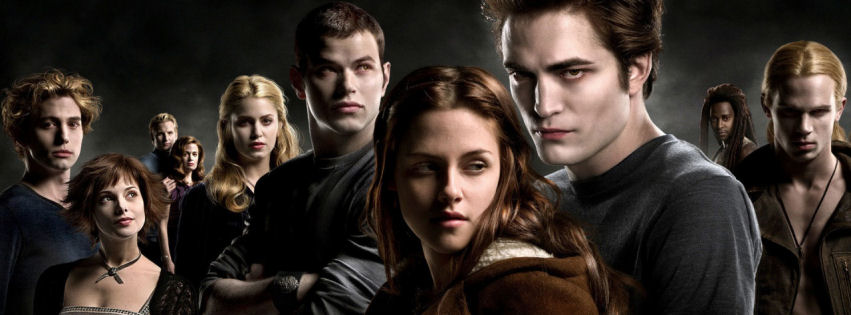 The twilight saga facebook cover