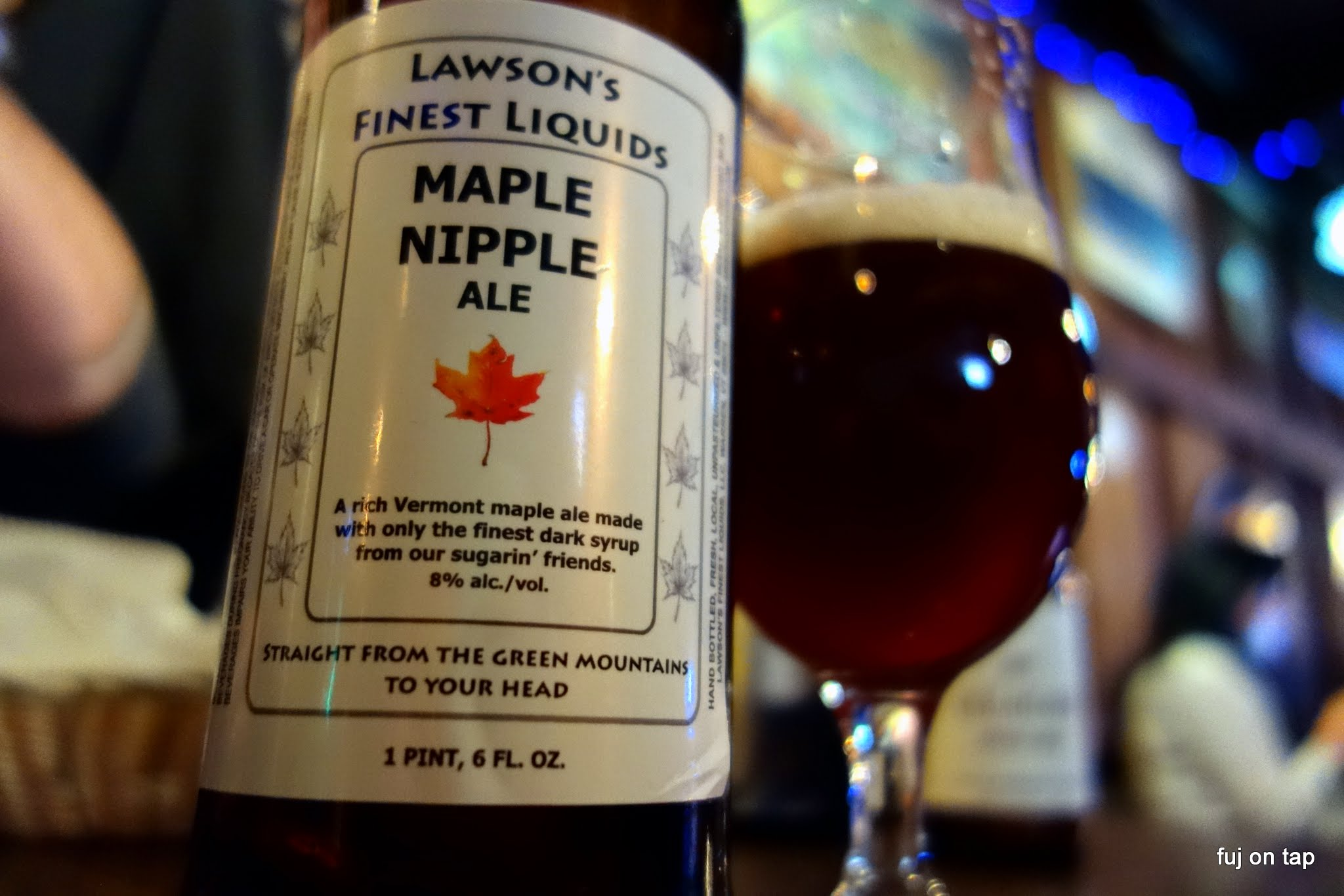 Lawson's Finest Maple Nipple