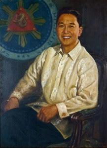 Ferdinand Marcos painting