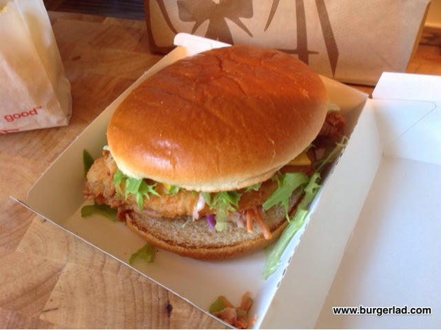 KFC Pulled Chicken Ultimate Burger
