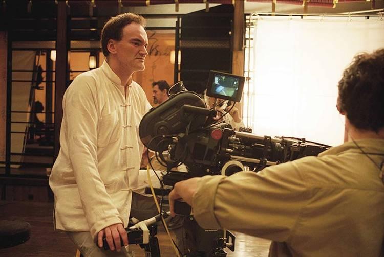 Quentin Tarantino tras las cámaras