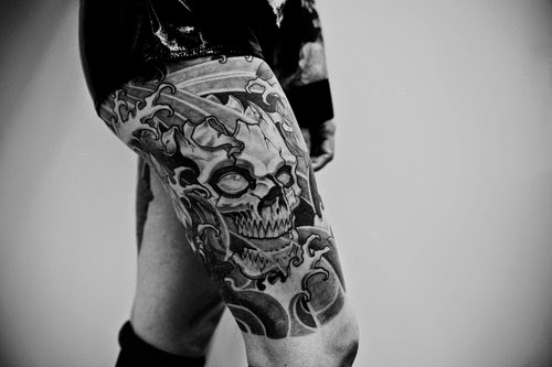 tattoo on leg