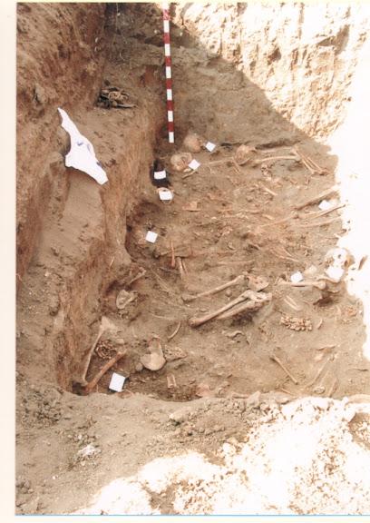 Розкопки масових могильників репресованих на 6-му км Овідіопольської дороги (Одеса)