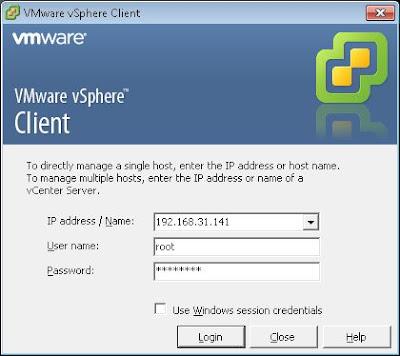 Verificar estado del servidor ESXi actualizado a la 5.1