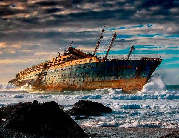 Naufragio del SS America