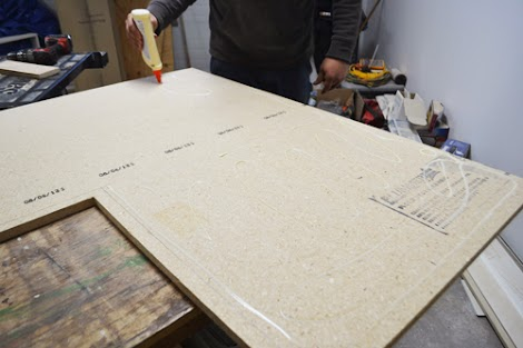 Diy Ing A Laminate Countertop Ana White Woodworking Projects