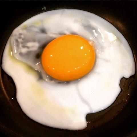 Fried Goose Egg