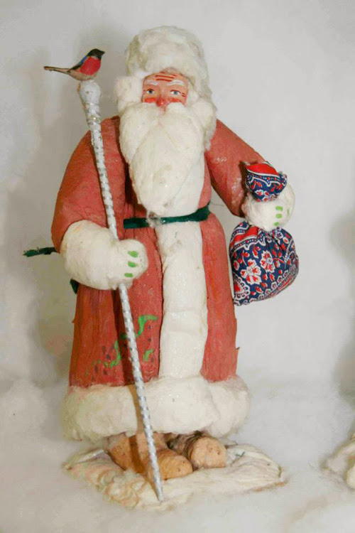 дед мороз, новый год, праздник, история, коллекция, музей детства