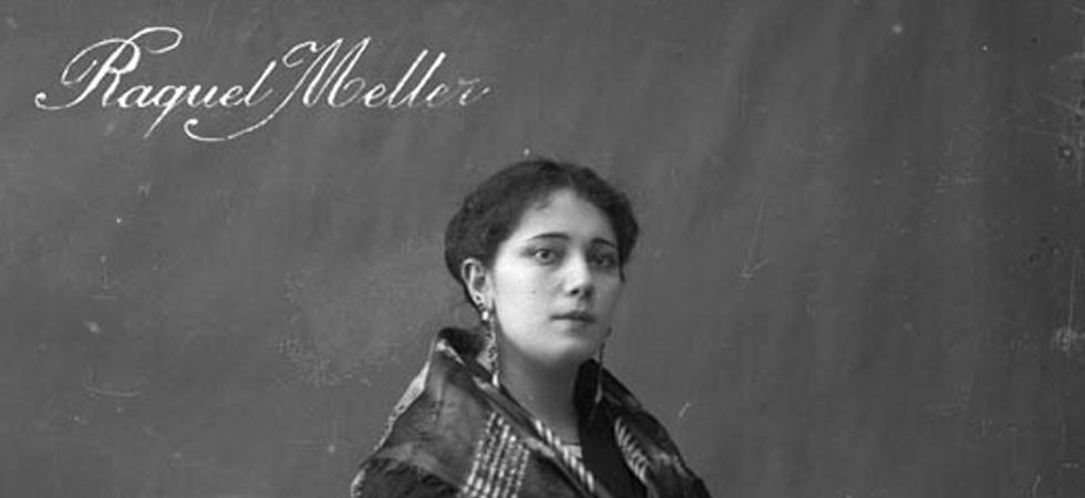 Una jóven Raquel Meller.