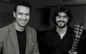 Concierto de Sergio Santes, guitarra y Vicent Gelós Ten, flauta