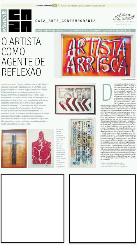 Página da Caza - 23 de Novembro de 2012