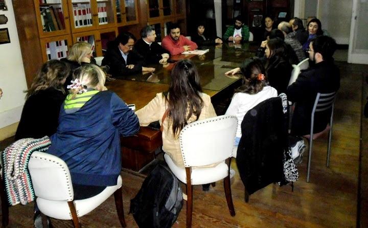 Comisión de Derechos Humanos del Honorable Concejo Deliberante que preside el Concejal Luciano Lescano FPV