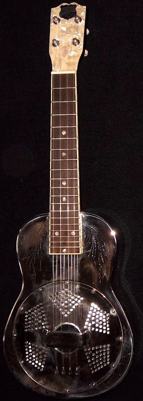 AXL Recording King Resonator Concert Ukulele