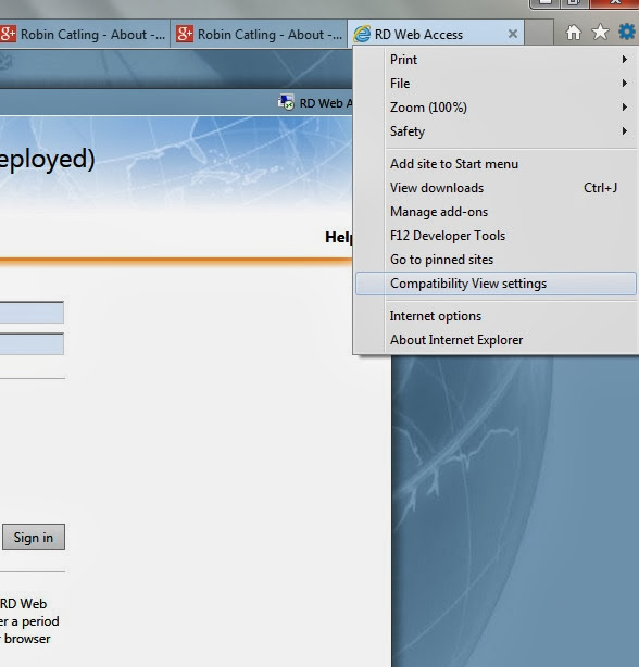 How-to: Enable Compatibility View in Internet Explorer 11
