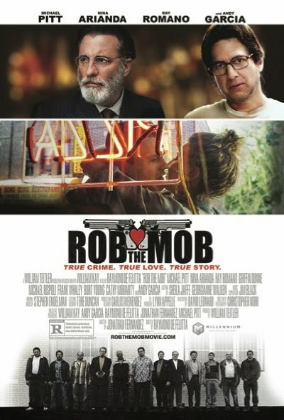 Poster Of English Movie Rob the Mob (2014) Free Download Full New Hollywood Movie Watch Online At Alldownloads4u.Com