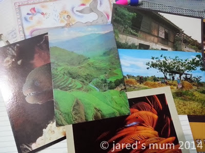 mailday, postcrossing, postcards