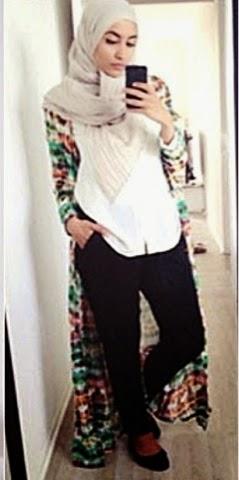 Hijabi Style Hijab Fashion Blog Maxi Cardigan Dresses Fly Away Hijabi Fantasy