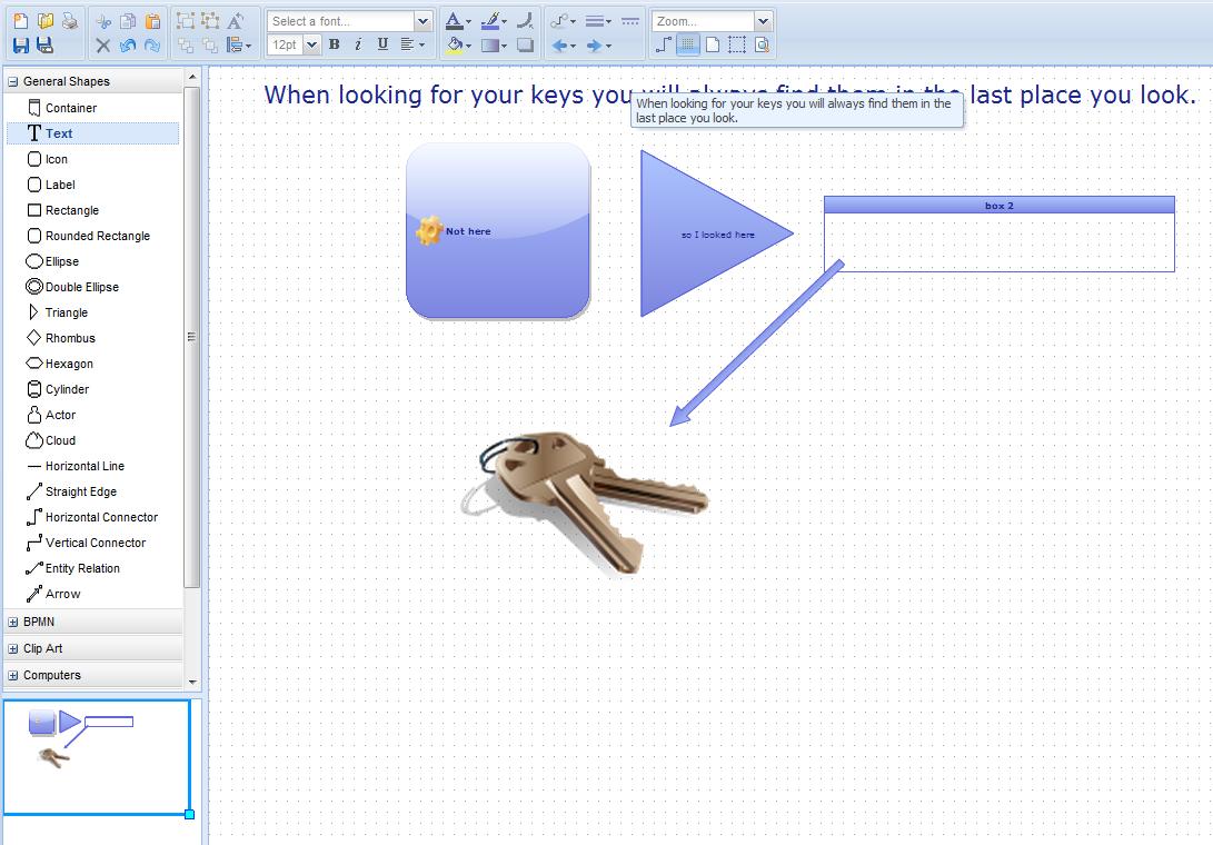 Free Technology for Teachers: Diagram ly - Drag & Drop Diagram Creation