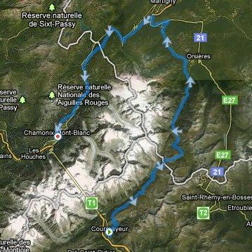 CCC 2011 - parcours