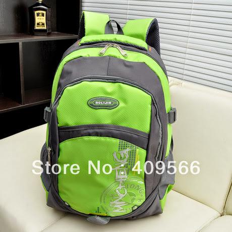 2014-2-16 sports travel bag laptop backpack for school